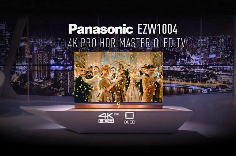 Panasonic 77-inch OLED TV