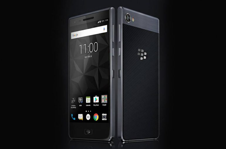 BlackBerry Motion Android smartphone
