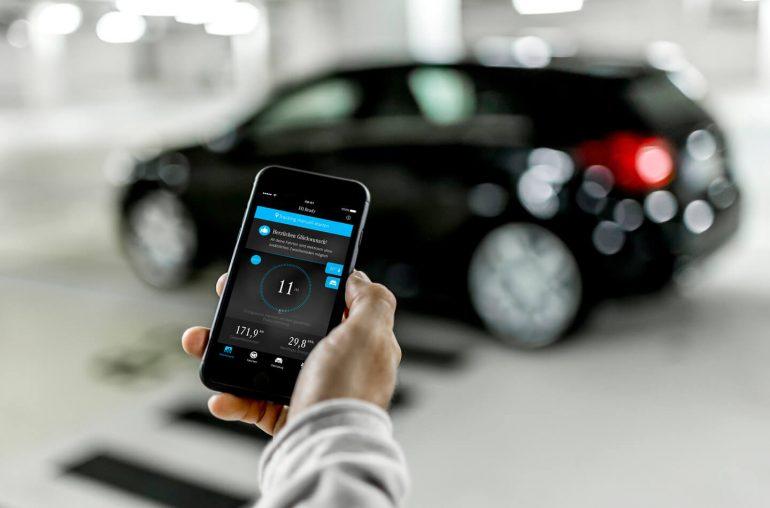 Mercedes smartphone app