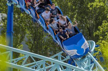 Pretpark Futuroscope nieuwe achtbaan