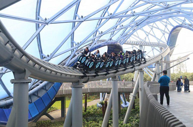 Vekoma Rides achtbaan