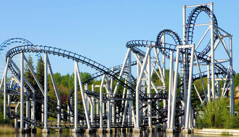 Goliath in Walibi Holland: de legendarische Mega Coaster ...