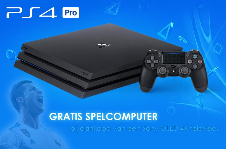 Gratis Playstation spelcomputer
