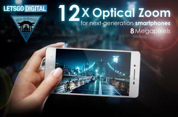 Optische zoom lens smartphone camera