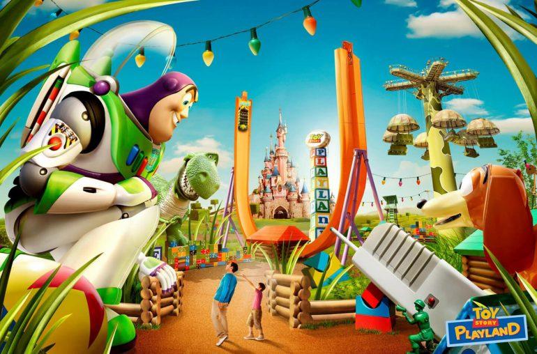 Pixar Toy Story Disneyland