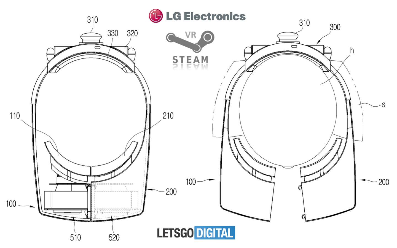 Уникальная сплит VR гарнитура от LG