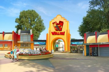 Walibi Holland mega coaster
