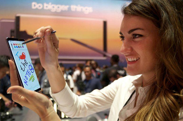 Galaxy Note 8 batterij