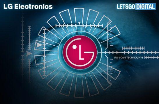 LG G7 irisscanner