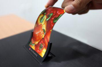 LG Rollable Display een opvouwbaar OLED scherm