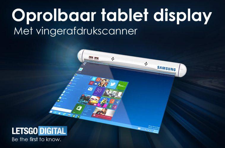 Samsung oprolbaar tablet