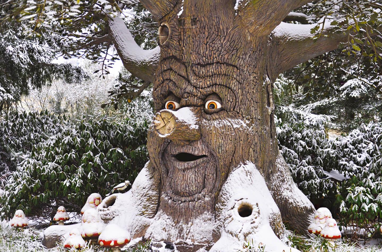 Winter Efteling Pretpark Voor Koude Winterdagen Letsgodigital