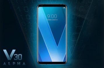 LG V30 Alpha