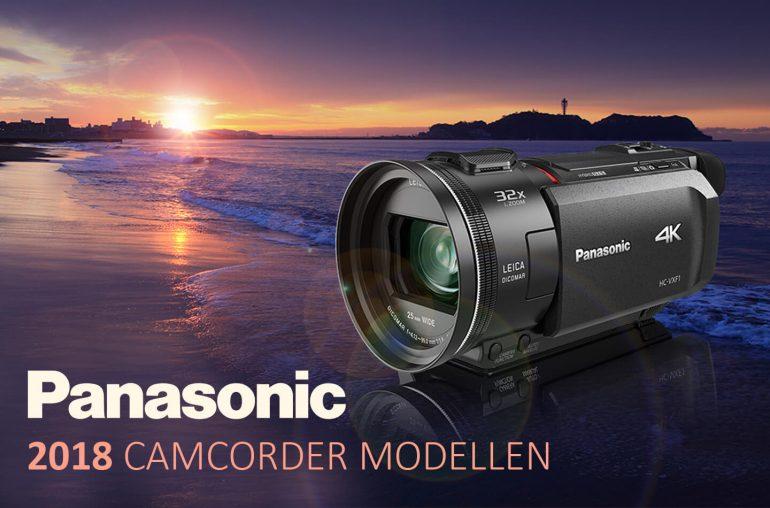 Panasonic camcorders 2018