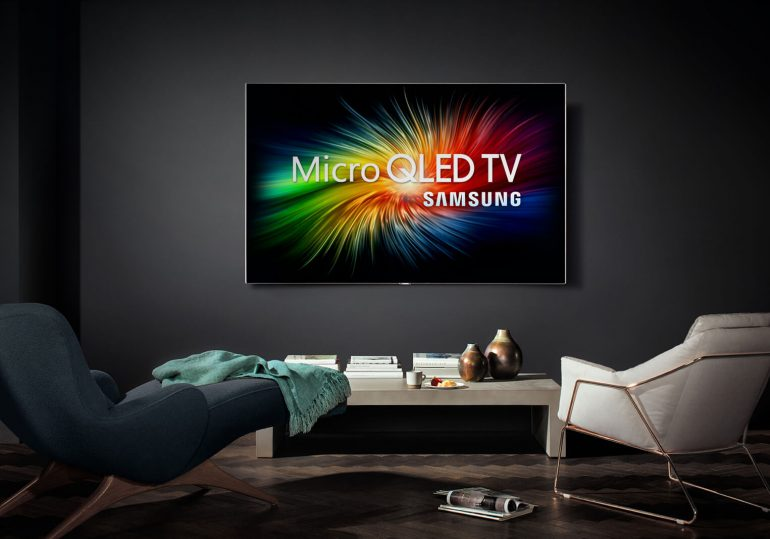 Samsung Micro QLED TV