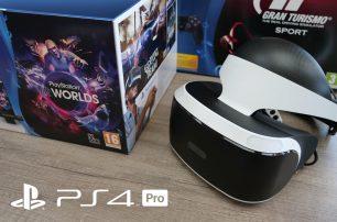 Sony PS4 Pro review PSVR headset