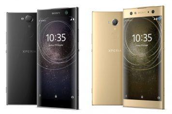Sony Xperia XA2 smartphones