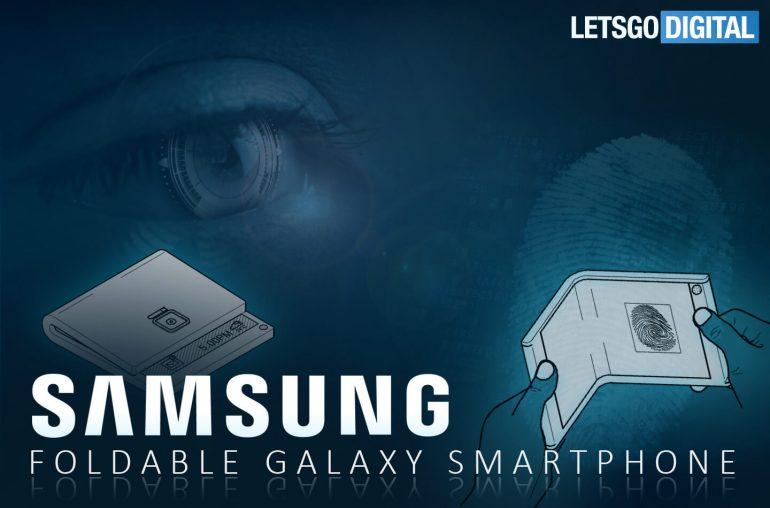 Biometrische identificatie Samsung telefoon