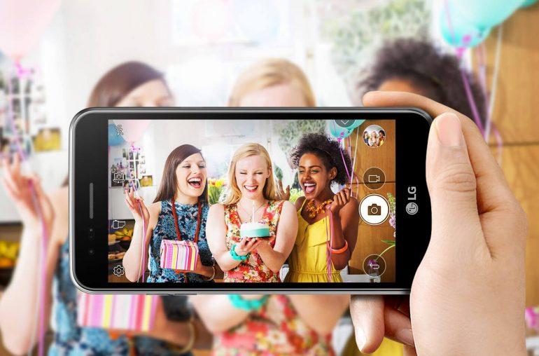 LG budget smartphone