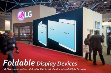 LG opvouwbare smartphone