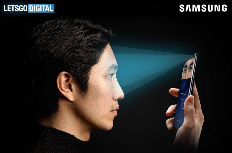 Samsung Galaxy S9 iris camera