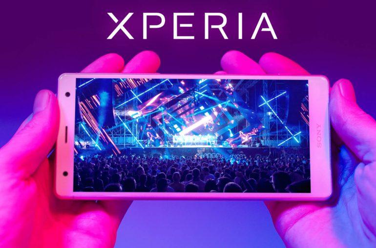 Sony Xperia XZ2 smartphones