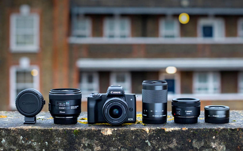 Canon EOS M50 objectieven