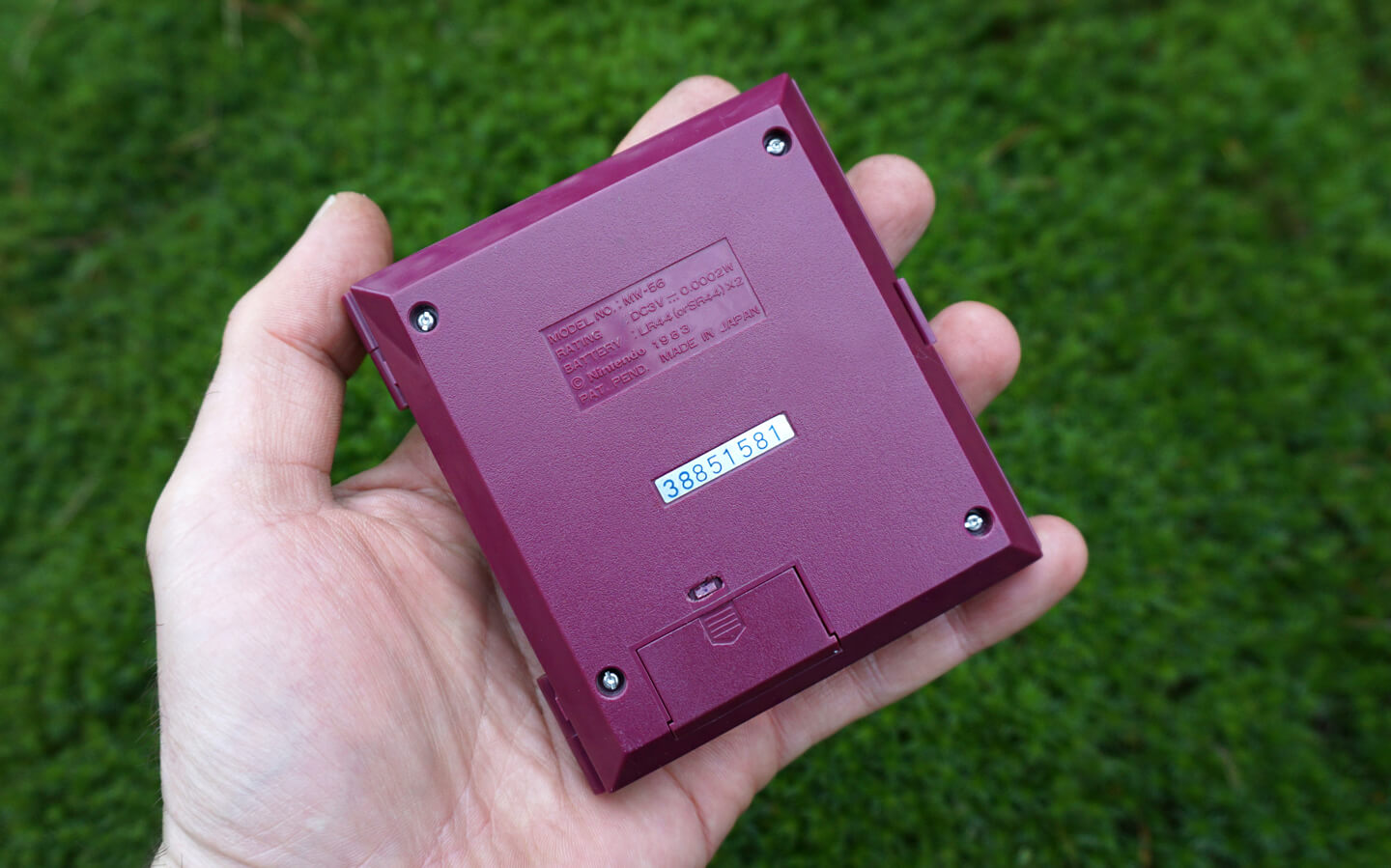 Handheld spelconsole