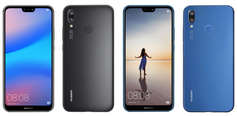 Huawei P20 modellen
