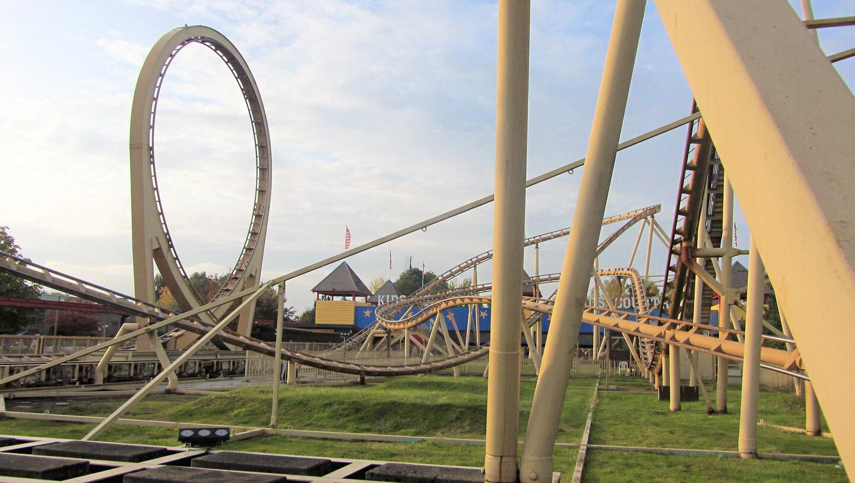 Looping achtbaan Slagharen