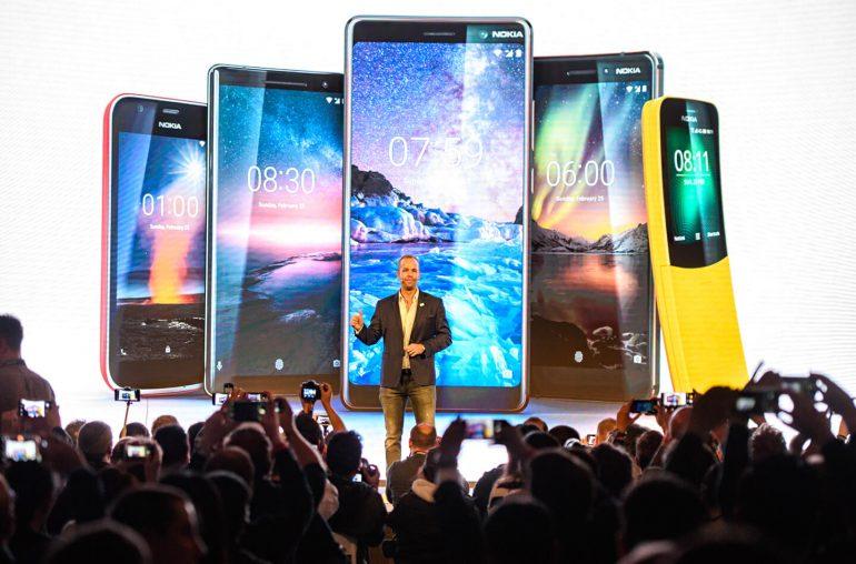 Nieuwe Nokia 2018 smartphone