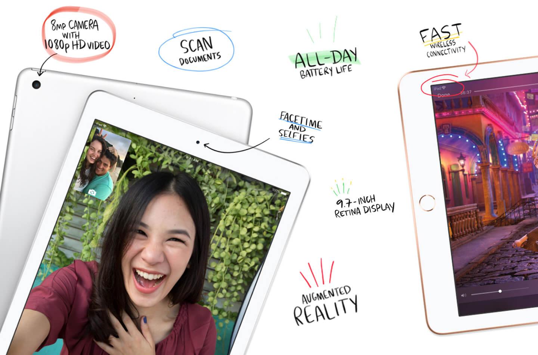 Nieuwe iPad tablet
