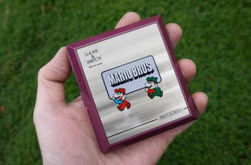Nintendo Game & Watch handheld spelconsole met Mario Bros