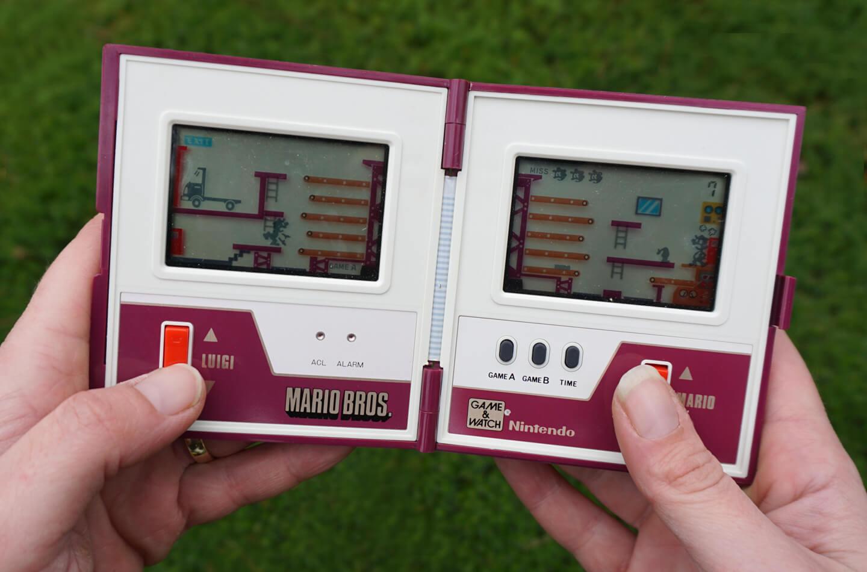 Nintendo handheld spelconsole