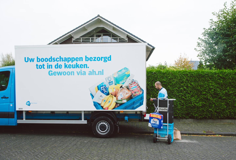 Online boodschappen Albert Heijn