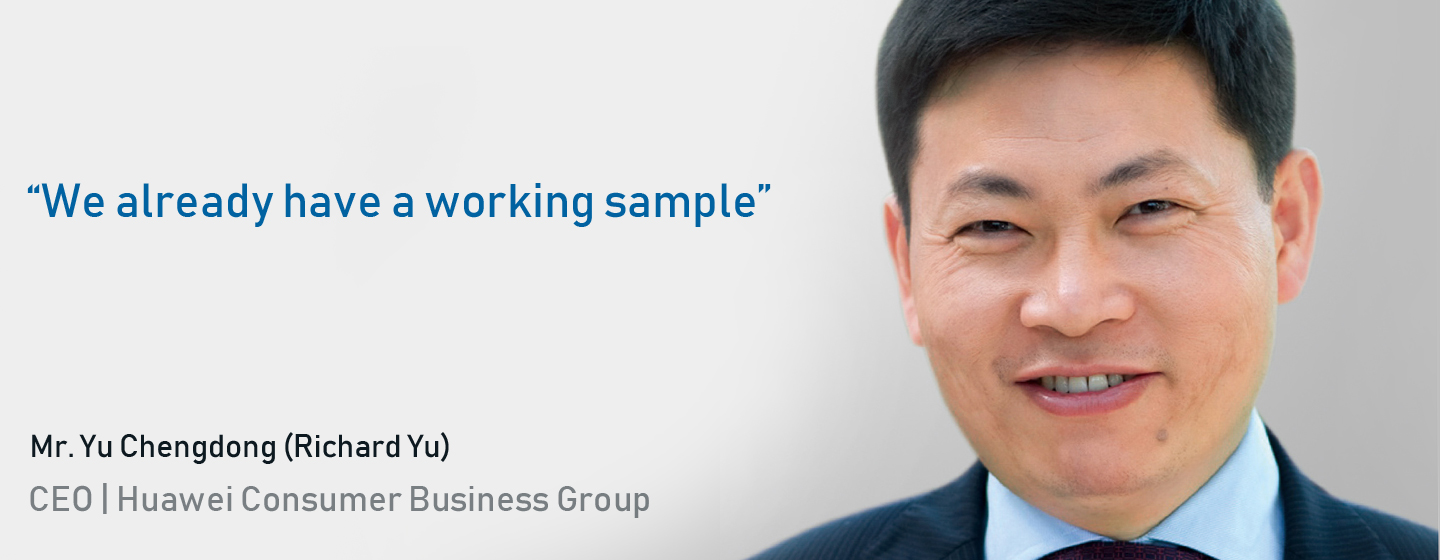Richard Yu CEO Huawei