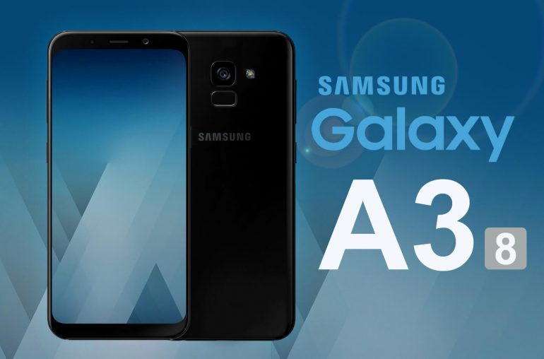 Samsung A3 2018 smartphone