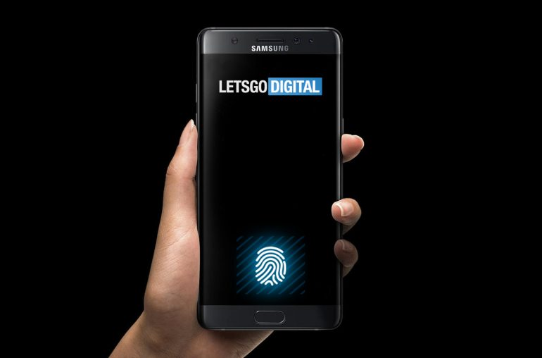 Samsung vingerafdrukscanner