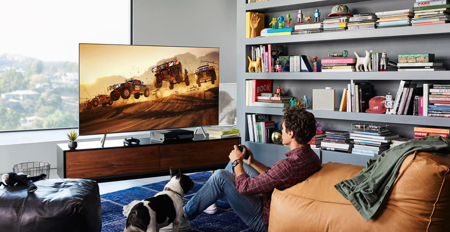 TV voor game consoles