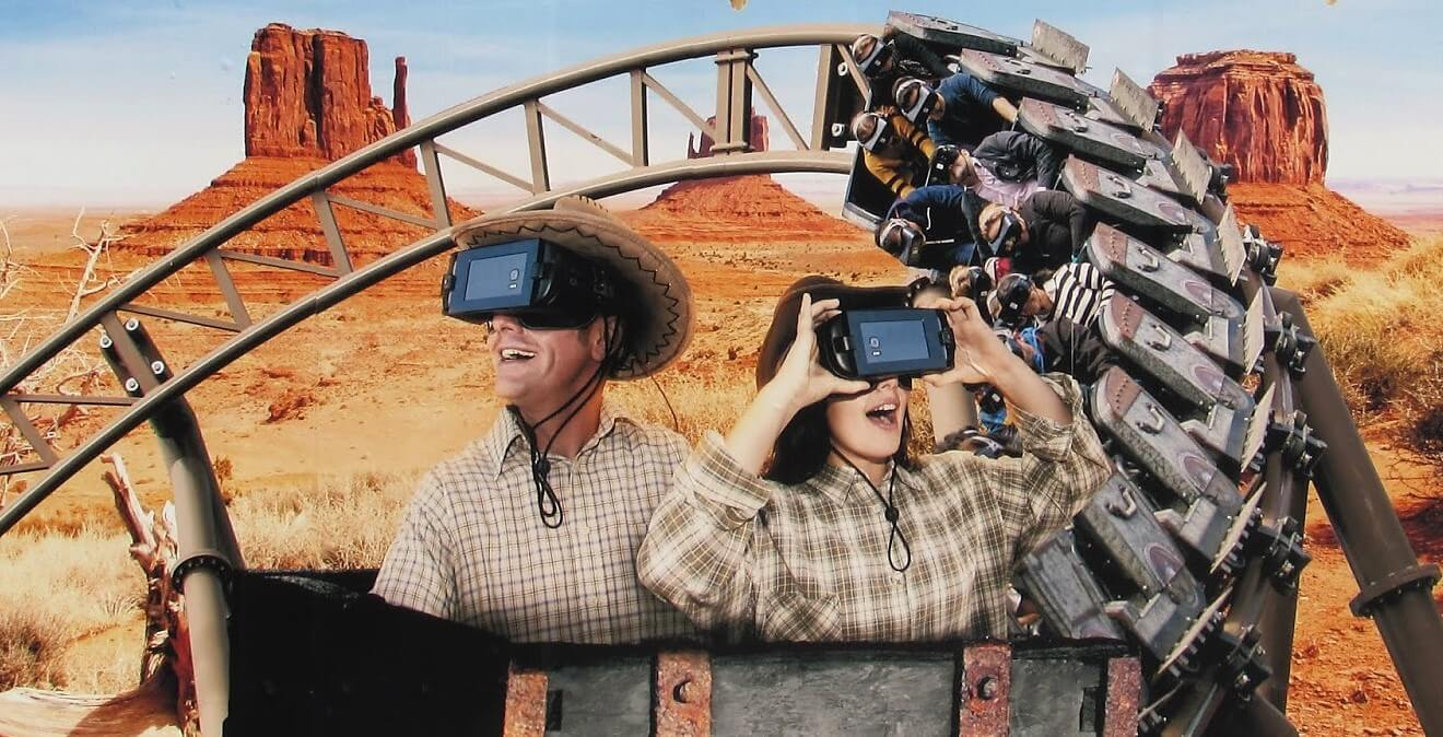 Virtual Reality attracties pretparken