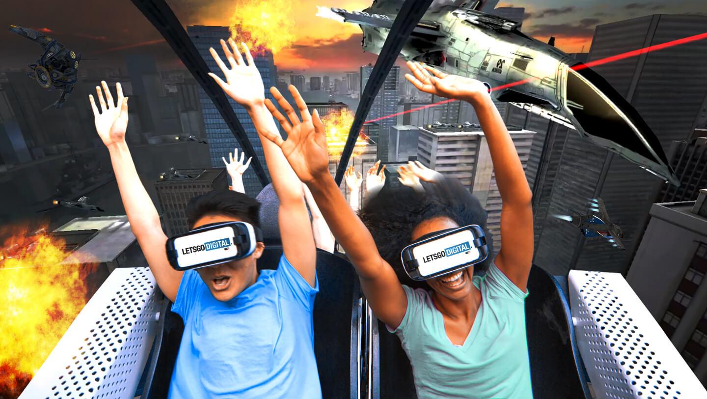 VR achtbaan