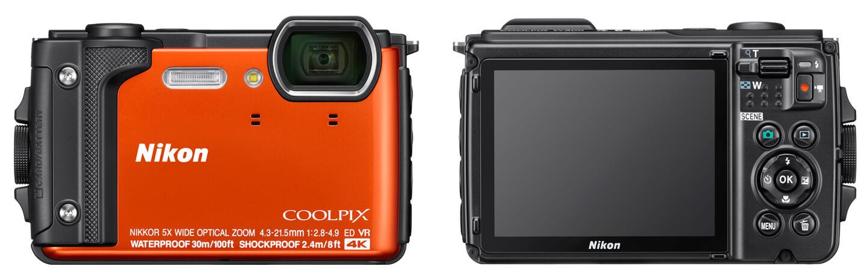 Waterdichte camera