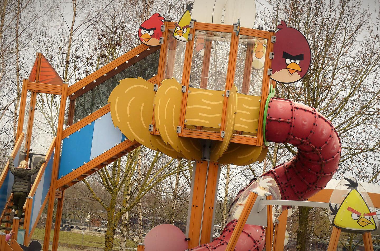 Angry Birds speeltuin