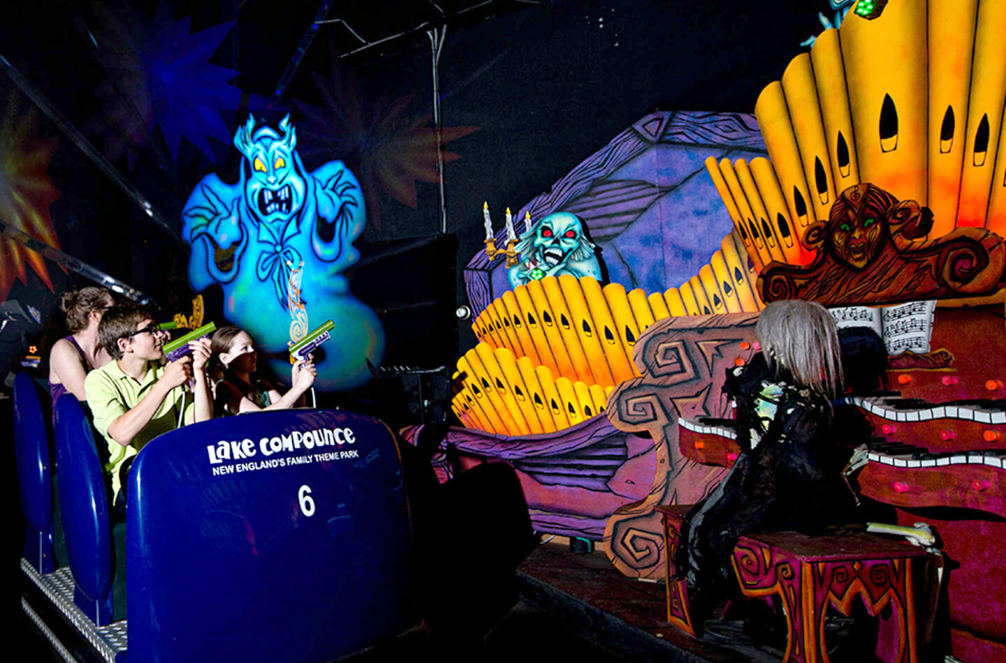 Dark ride attractie