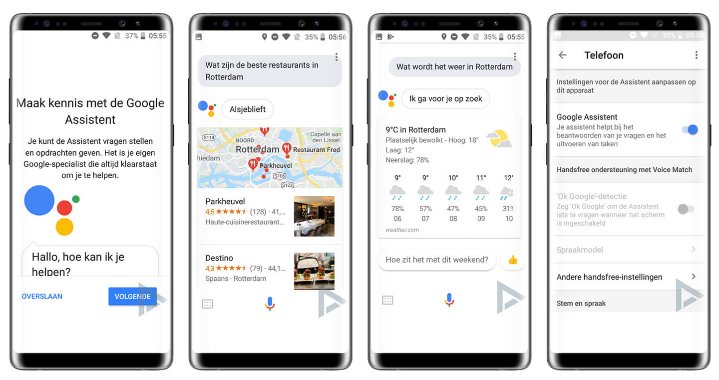 Google assistant Nederlands