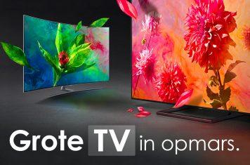 Grote QLED TV kopen
