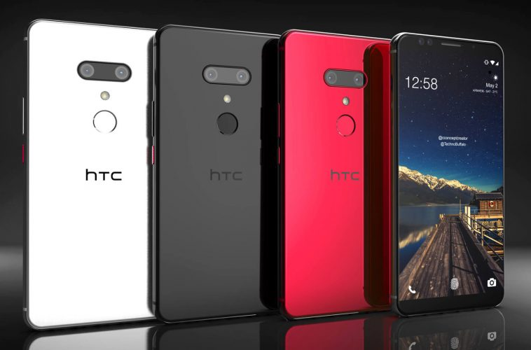 HTC U12 Plus smartphone