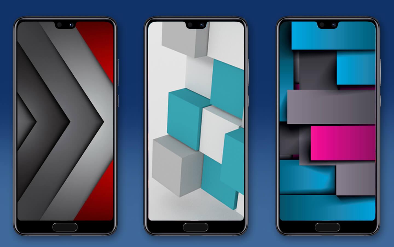 Huawei 3D smartphones