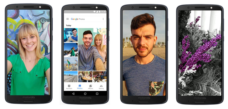 Motorola Android smartphones