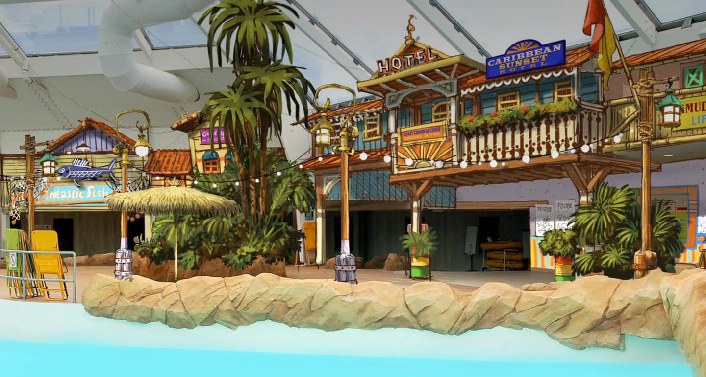 Nieuwe attracties pretpark Walibi